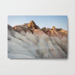 Ripples in Cappadocia Metal Print