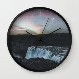 Dettifoss, Iceland II Wall Clock