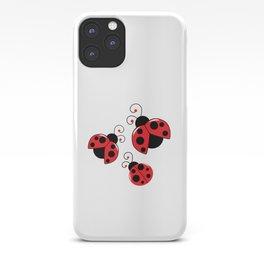 Little Ladybugs iPhone Case