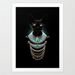 Sphynx Cat : Animaluxury 01 Art Print