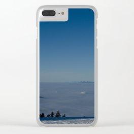 Black Forest Sunrise - Landscape Photography Clear iPhone Case