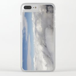 Freedom Of Flight Clear iPhone Case