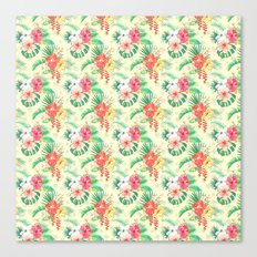 Flowers V Canvas Print