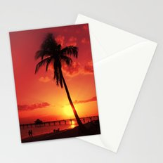 Romantic Sunset Stationery Cards