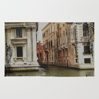 venice Area & Throw Rugs featuring Venice by Caroline Fogaça