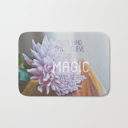 magic..  Bath Mat