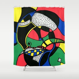 Print #7 Shower Curtain