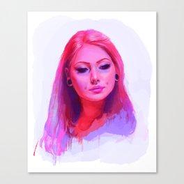 Vanity Pink Canvas Print