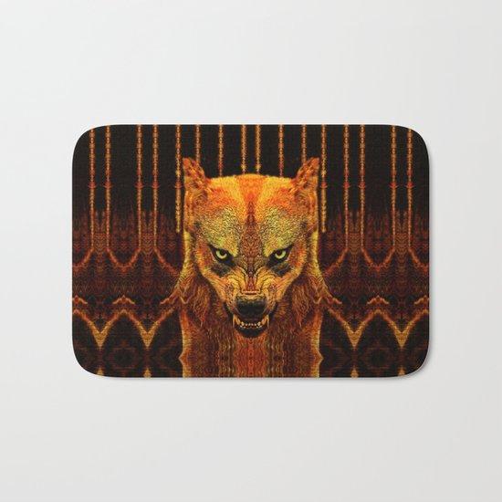 Canis Lupus I Bath Mat