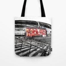 Arsenal FC Emirates Stadium London Art Tote Bag