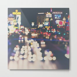 Las Vegas ... the neon town!  Metal Print