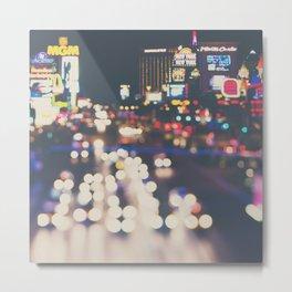 Las Vegas ... the neon town!  Metal Print