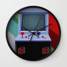 Retro Arcade Joystick Video Game Wall Clock