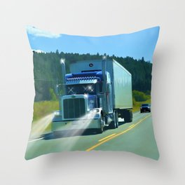 Supplying the Nation Throw Pillow