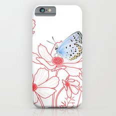 Cosmos and Butterfly iPhone 6s Slim Case