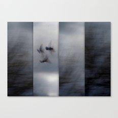Into the Light of the Dark Black Night Canvas Print