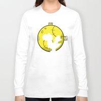 mario kart Long Sleeve T-shirts featuring Yoshi and Baby Mario ( super mario bros ) by TxzDesign