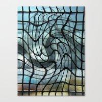 vertigo Canvas Prints featuring Vertigo by Jose Luis