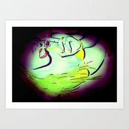 Naami Art - Spotlight Art Print