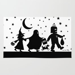 Trick-or-Treat Rug