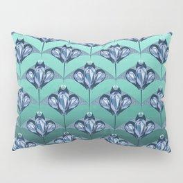 Manta ray - Sapphire Pillow Sham