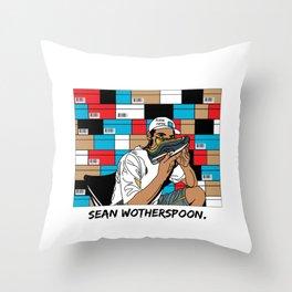 SNEAKERHEAD #2 Throw Pillow