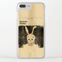 Donnie Darko Minimal Movie Poster Clear iPhone Case