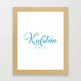 KUFSTEIN Framed Art Print