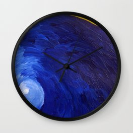 Pacific blue Wall Clock