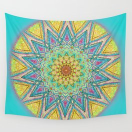 Burst Mandala 0118 Wall Tapestry