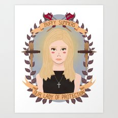 Buffy Summers Art Print