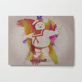 stay.puft.inc Metal Print