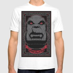 Garrosh SMALL Mens Fitted Tee White