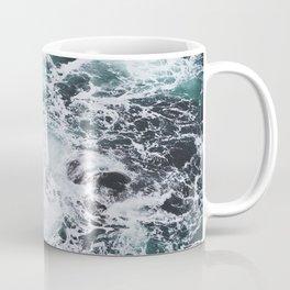 OCEAN - ROCKS - FOAM - SEA - PHOTOGRAPHY - NATURE Coffee Mug