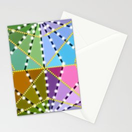 Psychedelic Pattern Stationery Cards