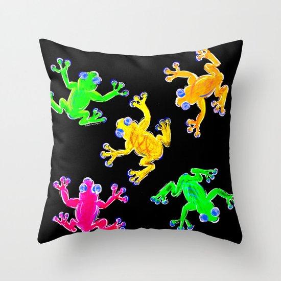 Rainforest Multicolour Throw Pillow