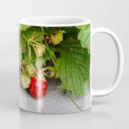 Wild Strawberry Photography Print Coffee Mug