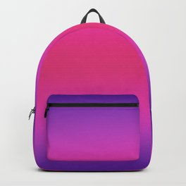 Purple and Pink And Purple Ombre Backpack