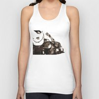 train Tank Tops featuring Train by SteeleCat