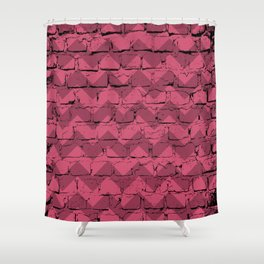 Just Another Brick, Grunge Wall Shower Curtain