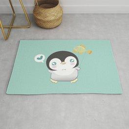 Cute Penguin Rug