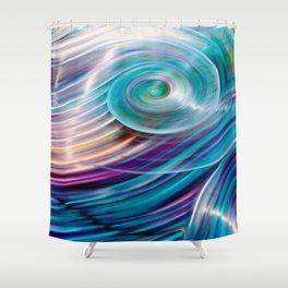 Suddenly Sapphire Shower Curtain