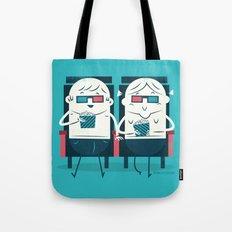 :::Cinema Couple::: Tote Bag