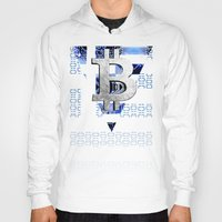 greece Hoodies featuring bitcoin Greece by seb mcnulty