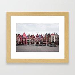 Brugges Framed Art Print
