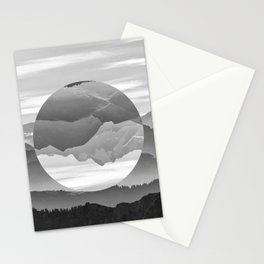 Geo Nature Mountains Stationery Cards