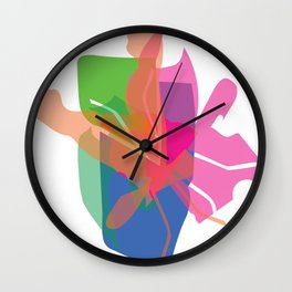 S H A P E Wall Clock