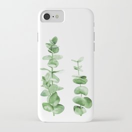 Eucalyptus leaves. iPhone Case