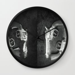 How the West was Lost Wall Clock