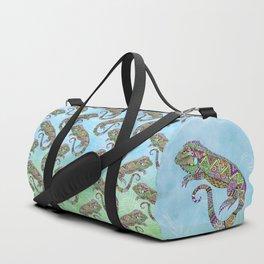 Electric Iguana Duffle Bag